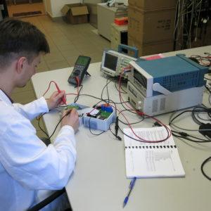 Laboratoř podporuje studentské projetky