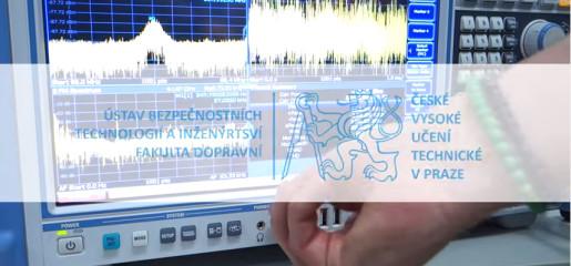 Testing new spectral analyzer