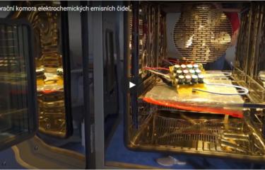 Kalibrační komora elektrochemických emisních čidel