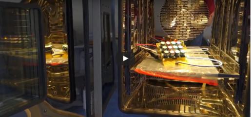 (čeština) Kalibrační komora elektrochemických emisních čidel