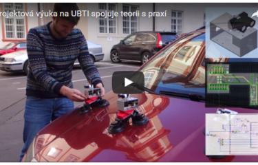 Projektová výuka na ÚBTI nabízí zajímavé projekty k realizaci
