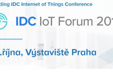 Navštivte náš stánek IDC IoT Forum na Výstavišti Praha, 19. října 2017