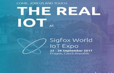 Navštivte náš stánek na výstavě Sigfox World IoT Expo vPraze, vprostorách Forum Karlín, vednech 25.-26.9.