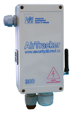 AirTracker: Senzorická jednotka Airtracker druhé generace pro měření znečištění ovzduší.